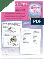 Sister Club Activity Kit