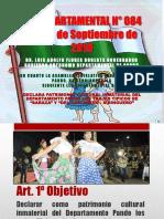 LEY DEPARTAMENTAL N° 084 TRAJES TIPICOS. pptx