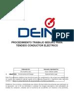 PTS TENDIDO CONDUCTORES ELECTRICOS