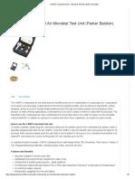 CAMTU Compressed Air - Microbial Test Kit _ Weber Scientific