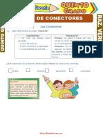 Tipos-de-Conectores-para-Quinto-Grado-de-Primaria