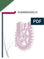 HUMANIDADES IV