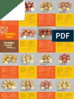 Catalogue of potato varieties and advanced clones 2011