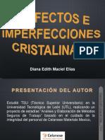 PRESENTACIÓN DEFECTOS E IMPERFECCIONES