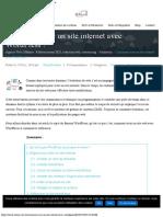 Créer un site internet WordPress  votre guide pas à pas.pdf