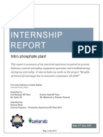 Internship Report - Ramzan Nazir, Pak Arab, NP, july 2018