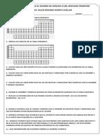GUIA DE ESTUDIO PARA EL EXAMEN DE CIENCIAS III DEL SEGUNDO TRIMESTRE
