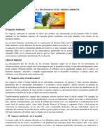 impacto ambiental datos fundamentales