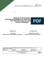Manual de Instalación Sistema Integrado de Gestion Para Entes Del Sector Publico (Sigesp) Sigesp Organos