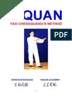 Yiquan - Yao Chengguang's method