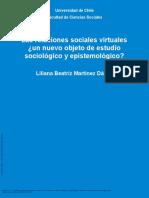 Las Relaciones Sociales Virtuales ¿Un Nuevo Objeto... ---- (LAS RELACIONES SOCIALES VIRTUALES (...))