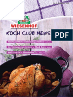 Wiesenhof Kochclub Nr. 37 | Dezember 2010