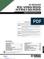Yamaha rxv395_rds (Service)