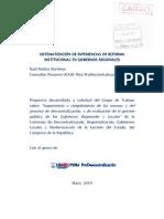 Informe Final Grupo de Trabajo - USAID