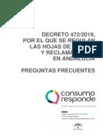 hojas reclamaciones reclamar Preguntas Frecuentes Decreto 472-2019_0