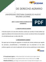 Diapositivas Clase Derecho Agrario UCENM
