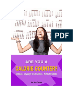 Are You A Calorie Counter? Discover 5 Easy Ways To Cut Calories - Without The Stress!