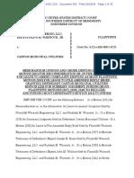 Warnock Federal Order on SJ