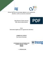 Actividad1 Herramientas digitales para las organizaciones educativas
