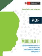 Condiciones básicas DIT Modulo II