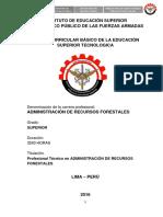 DCB ADMINISTRACION DE RECURSOS FORESTALES