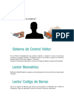 Software de Visitantes ( VISITOR )