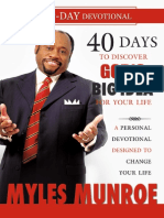 40 Days to Discovering God's Big Idea for Your Life. A Personal Devotional Designed to Change Your Life