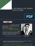 3-EL DERECHO DE  ISRAEL A SU TIERRA EN EL CORÁN - copia