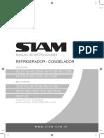 MANUAL REFRIGERADOR SIAM HSI-CT11B