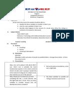 lesson plan ohms law