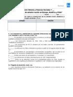 2° Evaluación Historia y Ciencias Sociales 1º Medios - La construcción de estados nación en Europa, América y Chile.doc