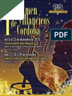I CERTAMEN DE VILLANCICOS DE CÓRDOBA 2010.