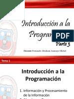 Introducción a la Programación - Parte 3