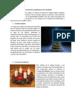 Los tres símbolos más significativos de la navidad
