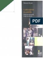 EL LADO SUBJETIVO DE LA GESTION CAP 5_Blejmar