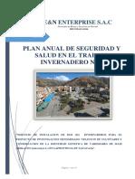 PLAN ANUAL DE SEGURIDAD Y SALUD EN EL TRABAJO INV-Nº01