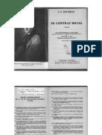 Jean-Jacques Rousseau - Du Contrat Social Extraits. Ed, Madeleine Le Bras (Larousse, 1953)