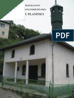 Monografija Bugojanskih Dzamija - Planinica