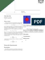 La fuerza de fricción que experimenta un objeto esférico