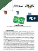 progetto climaction - scheda - 9.12.10