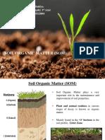 SOIL ORGANIC MATTER PDF