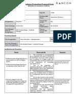Employee Promotion Proposal Form - Safkat