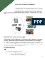 T01 - Introduccion a los automatas programables