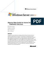 ADFS Step by Step Guide