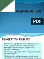 FP-FILSAFAT - (1) PENGANTAR.ppt