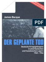 Bacque James - Der Geplante Tod (2002, 496 S.)