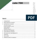 Scale Kalenji 700 Use Manual