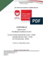 Auditoria II  Tarea No. 6.docx