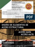 EXPOSICIÓN ACERO A606 - A678