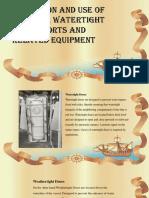 Seamanship reporting